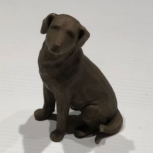 Willow Tree Love My Dog figurine